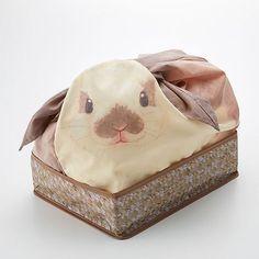 Estas bolsas japonesas convierten tus artículos domésticos en conejitos