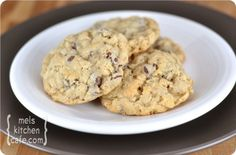Rocky Mountain Cookies - with chocolate chips, oatmeal, and Rice Krispies.  Awesome!
