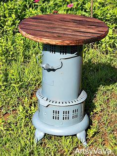 Kerosene Heater Table