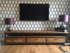 Vintage marco contemporáneo estilo aparador TV Stand por breuhaus
