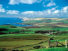 Thomas Hardy country, Dorset. Some of the best novels in English literature took place here. Locations included Shaftesbury, Dorchester, Beaminster and Bridport.