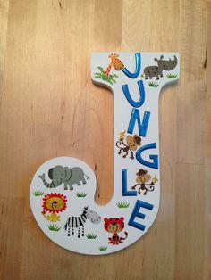 Front Side J Is For Jungle Collette Bledsoe Letter Preschool
