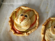 Thanksgiving Apple Tarts