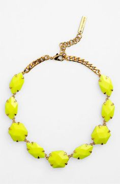 Vince Camuto 'Bright Gems' Faceted Resin Collar Necklace available at Nordstrom
