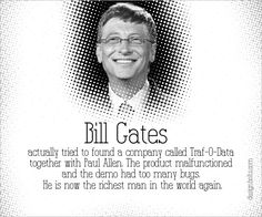 Bill Gates Famous Failure Failure Stories Behind The Most Famous & Successful People Of the World
