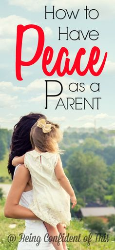In the age of social media, it's easy to find conflicting parenting advice. How do we know which method is right or best? Peaceful parenting is not as...