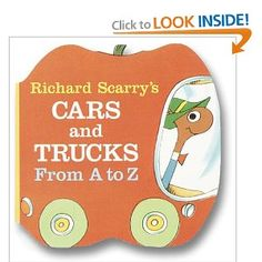 Richard Scarry's Cars and Trucks from A to Z (A Chunky Book(R)): Richard Scarry: 9780679806639: Amazon.com: Books