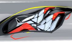 Ferrari World Design Contest 2011 by Marianna Merenmies, via Behance