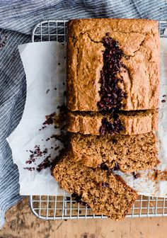Vanilla Almond Butter Bread with Cacao Nibs recipe