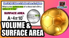 ☆ Learn to find the volume and surface area of a sphere using formulas |...