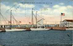 View Of Pier At Inlet