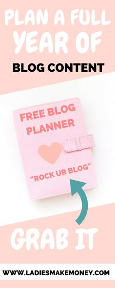Ready to grow your blog? Grab our free blog planner today. Blog planner printable available for free for entrepreneurs. How to start a blog and make money from home. Get yourself organizes.Blog planner printable free designed for bloggers. Our free printa