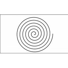 13 inch continious spiral quilting template quilt ez 13 inch spiral quilting template quilt ez pronofoot35fo Images