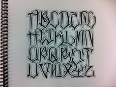 anrijs straume lettering font - Google Search