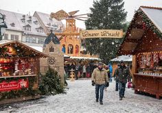 German Christmas market.