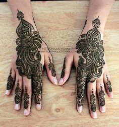 Henna - shower or night before for the girlies!