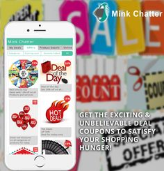 Now go on a shopping spree with Mink Chatter in your pocket. Get coupons for Exciting deals and offers from stores and shops around you, free of charge. Coming Soon!!! On App Store & Google Play Store