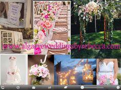 Created and designed by Rebecca wwww.algarveweddingsbyrebecca.com Rustic Algarve wedding