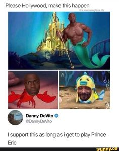 Please Hollywood, make this happen Isupport this as long as i get to play Prince Eric - iFunny :) Crazy Funny Memes, Really Funny Memes, Stupid Funny Memes, Funny Relatable Memes, Haha Funny, Funny Posts, Funny Cute, Hilarious, Funny Stuff