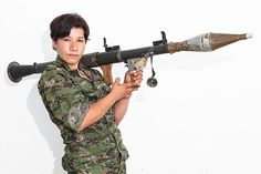 YPJ Soliders Fighting ISIS - Women Soldiers in a War Against ISIS