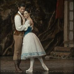 Diana Vishneva and Marcelo Gomes in Giselle