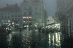 night rain - null
