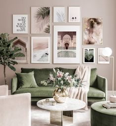 Gallery Wall Inspiration - Shop your Gallery Wall Gallery Wall Frames, Frames On Wall, Wall Tv, Living Room Inspiration, Home Decor Inspiration, Living Room Pictures, Living Room Picture Ideas, Living Room Gallery Wall, Living Room Wall Ideas