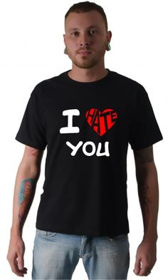 Dica #palcofashion #Camiseta - I love-hate you #moda #fashion