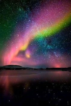 Tasmania, Australia. Aurora Australis!                                                                                                                                                     More