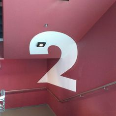 2nd floor @ staircase #signage #hk #3D