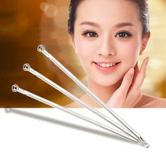 Blackhead Extractor Stainless Steel Comedone Acne Pimple Remover Needle Tool Hot Selling