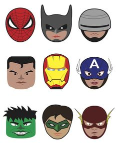 Free #Superhero Printables l Great-Kids-Birthday-Parties.Com.