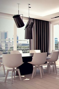 Dining room design in Katowice, POLAND - archi group. Jadalnia w mieszkaniu w Katowicach.