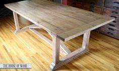 Rustic Yet Refined Wood Finish