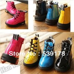 2013 new skull Martin boots classic snow boots children boys and girls high riding boots retail free shipping
