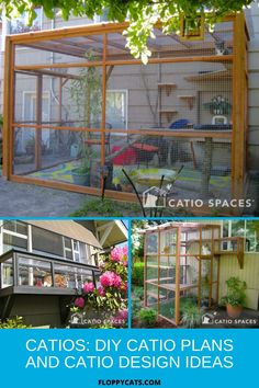 Whether or not to let your cat outside, can be a hard choice for some. How do you make sure they are safe outside considering that they are not used to defending themselves from cars, other animals outside, or even other people? The answer is installing a catio. A catio a patio for cats that is closed with special fencing so that your cat will be safely kept inside. Click to learn more about how to keep your cat safe outside. Cat Presents, Cats Outside, Cat Fountain, Outdoor Cats, Dog Boarding, Catio, Cat Gifts, Cool Cats, Cat Products