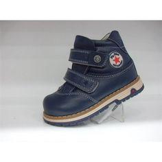 Ботинки детские синие MyMini