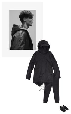 """/"" by darkwood ❤ liked on Polyvore featuring Y-3 and Tourne"