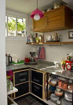 Quem tem pouca verba pode ter uma cozinha legal?
