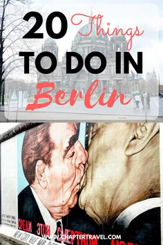 Looking for some fun activities in Berlin? Or some sight seeing tips for Berlin? Then read this article with 20 things to do in Berlin! The article also includes tips for how to travel around in Berlin, where to stay in Berlin, where to eat in Berlin and the nightlife in Berlin. #Berlin #Germany