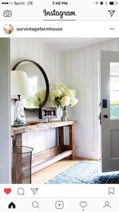 Entryway....obsessed