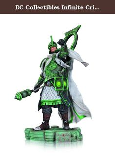DC Collectibles Infinite Crisis: Arcane Green Lantern Statue. Arcane Green Lantern stands at an impressive 11-inches tall! Arcane (Earth-13) Green Lantern! Arcane Green Lantern from the Infinite Crisis video game! A sudden assault threatens the DC Multiverse. All realities stand on the brink of annihilation. Now, the last hope for Earth lies in the powers of the DC legends. The Infinite Crisis Arcane Green Lantern statue measures approximately 11-inches tall. Ages 14 and up.