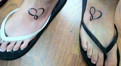 Sister tattoos :) ooooo I like this location Carissa!!!!
