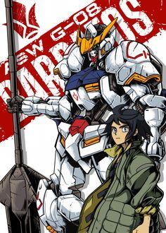 Barbatos X Mikazuki Augus Anime & Manga Poster Print Mikazuki Augus, Escanor Seven Deadly Sins, Really Cool Wallpapers, Blood Orphans, Gundam Iron Blooded Orphans, Gundam Wallpapers, Gundam Mobile Suit, Gundam Art, Custom Gundam