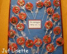 Prikbordenpagina op de site van juf Lisette