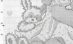 ru / Foto n. Cross Stitch Baby, Cross Stitch Animals, Cross Stitch Charts, Felt Embroidery, Embroidery Patterns, Knitting Patterns, Baby Chart, Disney Cross Stitch Patterns, Dyi Crafts