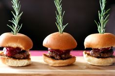 Brie and Cranberry Sliders: Sweet, salty, savory-- all in one! Great for the holidays, these brie and cranberry sauce sliders are a breeze to put together and so delicious to boot. #Appetizers #Snacks #Brie #Cranberry #Sliders #Recipe #Recipes #Sausage