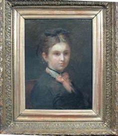 Portrait de Mademoiselle Léonie-Rose Davy Mademoiselle, Portrait, Rose, Collection, Pink, Portrait Illustration, Roses, Portraits, Head Shots