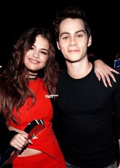 Dylan O'Brien with Selena Gomez | Dylan O'Brien ...