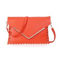 50pcs/lot New Women Envelope Clutch Handbag Purse Tote Shoulder Messenger Bag Ladies Bag